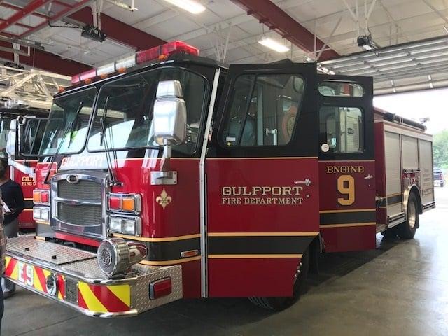 Gulfport Fire Station #9 Ribbon Cutting